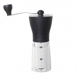 Mini mill slim plastic coffee grinder