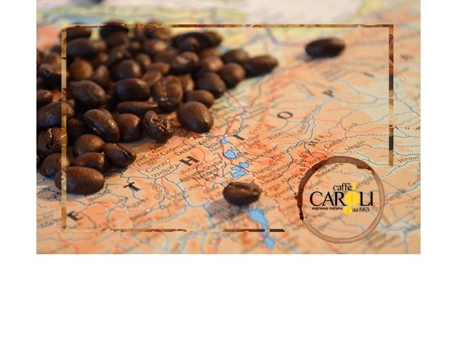 LA STORIA E L'EVOLUZIONE DEL CAFFE'