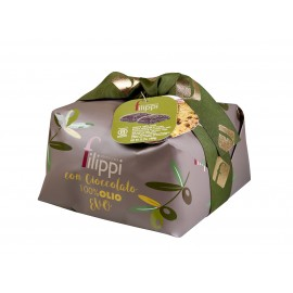 PANETTONE PASTRY FILIPPI 100% EXTRA VIRGIN OIL WITH CHOCOLATE