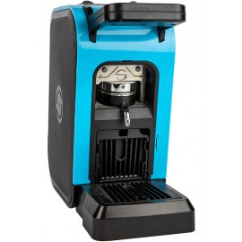 Coffee machine in paper pods ese 44mm Spinel CIAO light blue