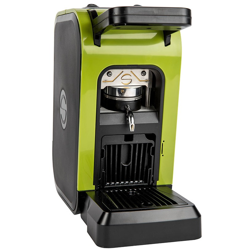 Coffee machine in paper pods ese 44mm Spinel CIAO green