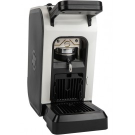 Coffee machine in paper pods ese 44mm Spinel CIAO white
