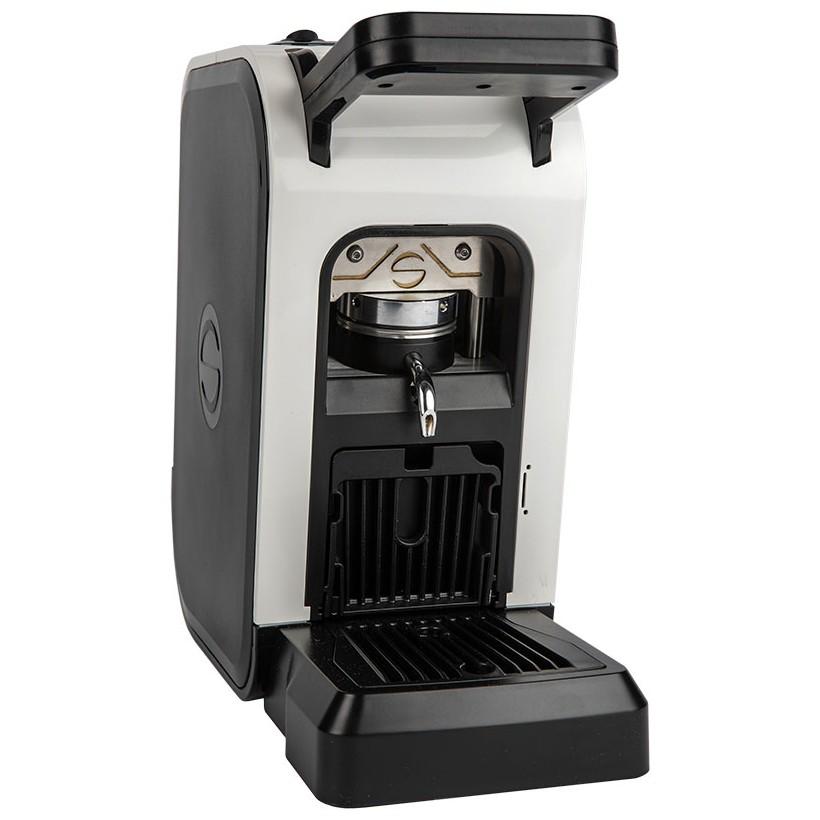 Macchina da caffè in cialda di carta ese 44mm Spinel CIAO bianca