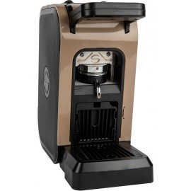 Coffee machine in paper pods ese 44mm Spinel CIAO brown