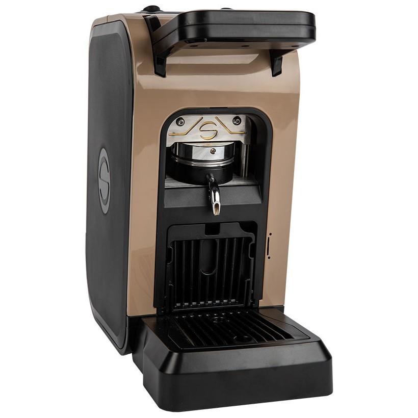 Kaffeemaschine in Papierschale ese 44mm Spinel CIAO braun