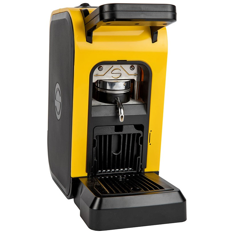 Coffee machine in paper pods ese 44mm Spinel CIAO yellow